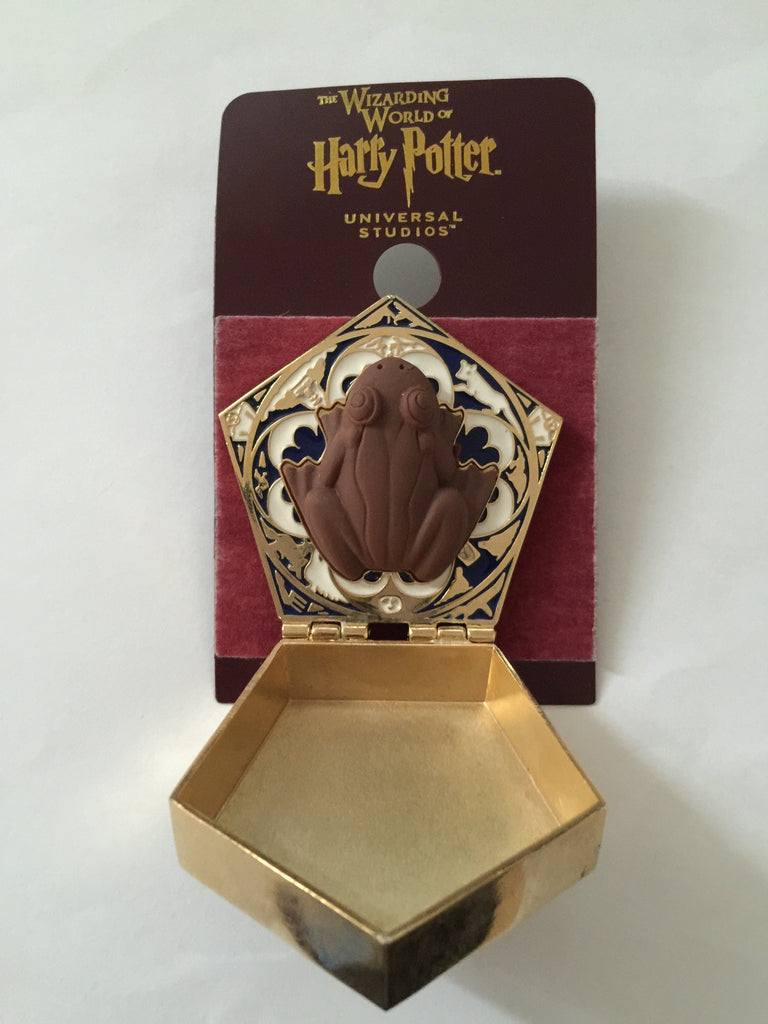 Universal Studios Wizarding World of Harry Potter Chocolate Frog Pin N