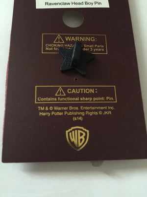 Universal Studios Harry Potter Ravenclaw Head Boy Pin New with Card