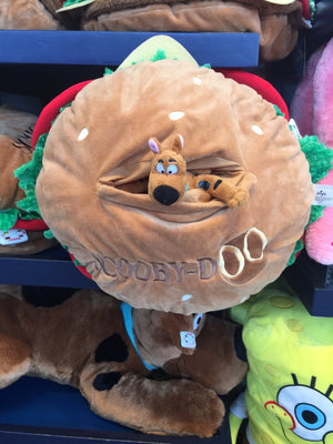 "Universal Studios Scooby Doo 16"" Cheeseburger Soft Plush Toy New with Tags"