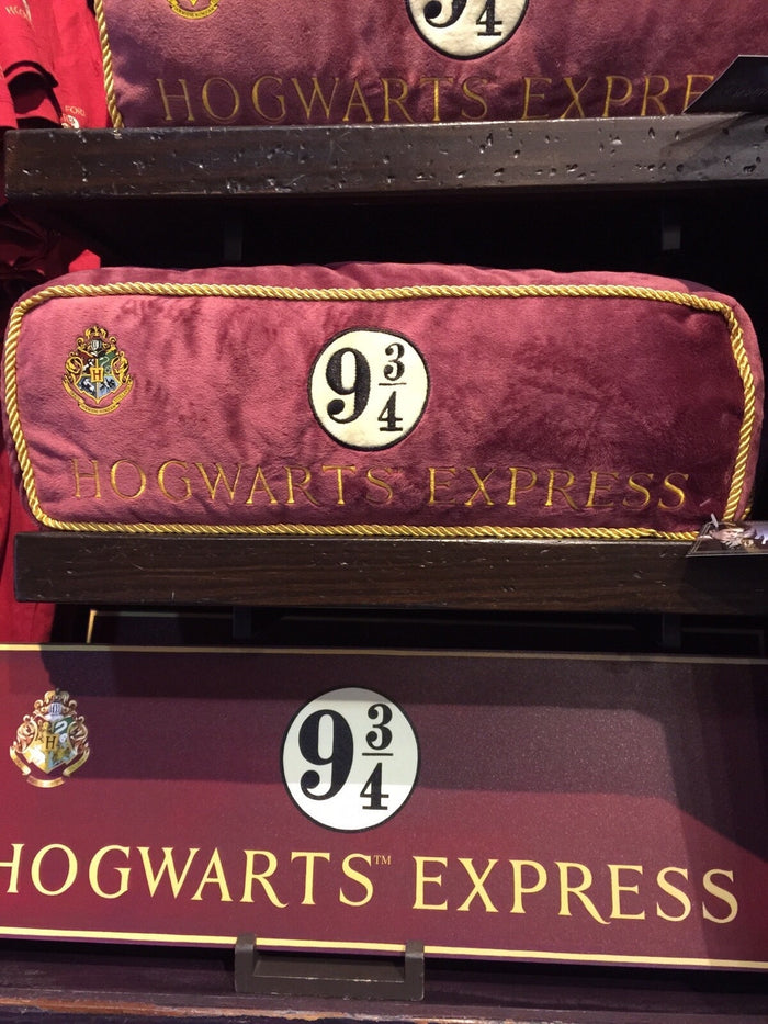 Universal Studios Wizarding World Harry Potter Hogwarts Express Train Pillow New