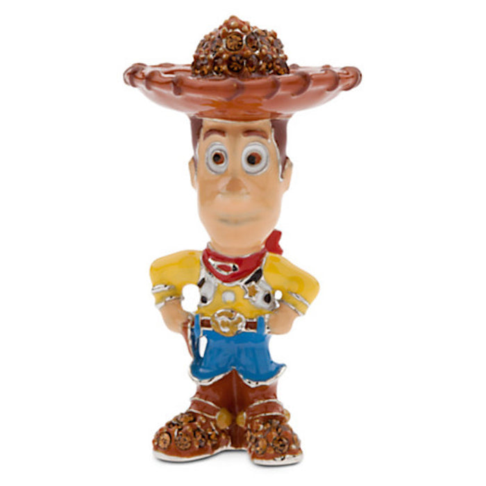 Disney Parks Toy Story Woody Figurine by Arribas Swarovski Jeweled Mini New with Box