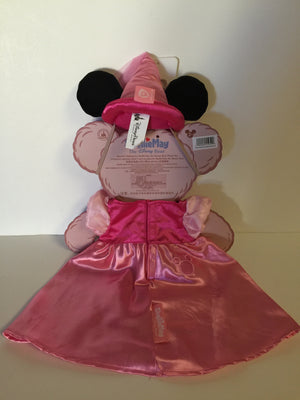 disney parks usa princess costume outfit for Shellie May bear plush new card