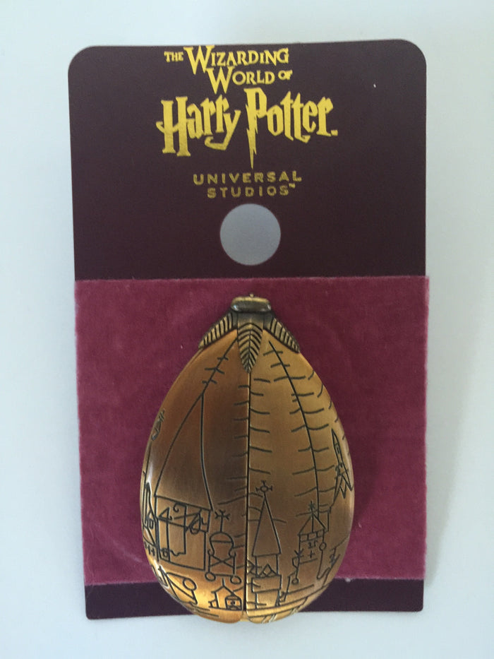 Universal Studios Wizarding Harry Potter Golden Egg Opening Pin New
