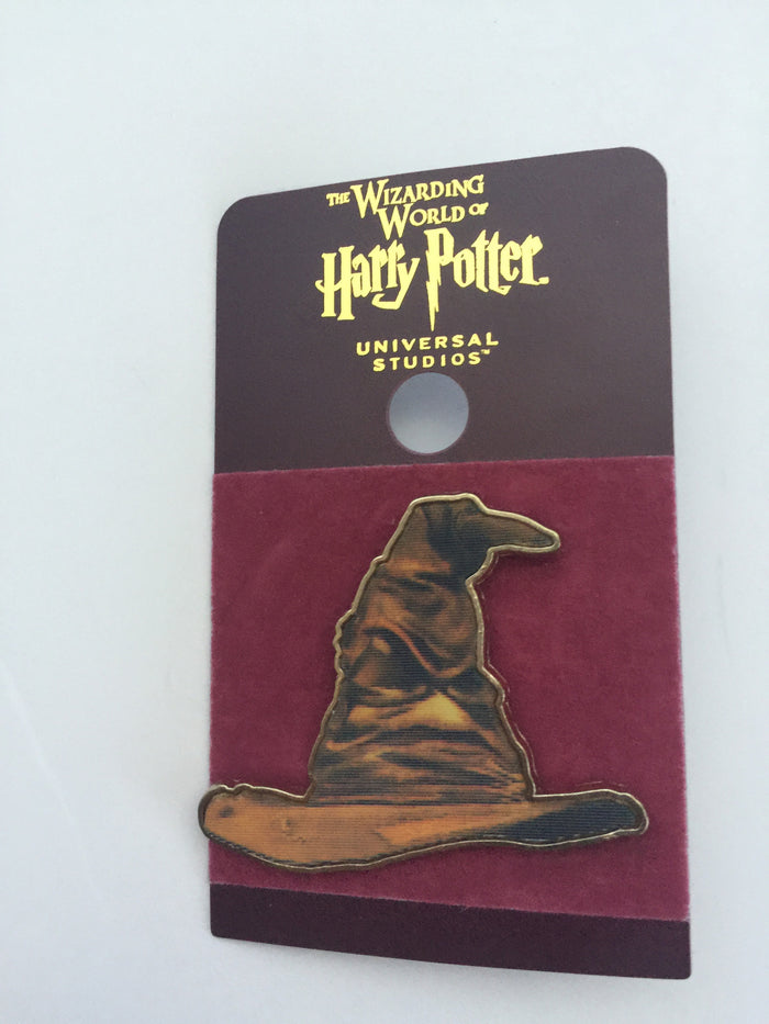 Universal Studios Harry Potter Sorting Hat Lenticular Pin New with Card