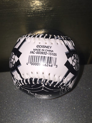 Disney Parks Collectible Baseball Nightmare Before Christmas Jack Faces New