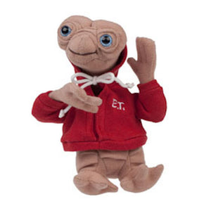 "Universal Studios Extra Terrestrial E.T. with Red Hoodie 6"" Plush Magnet New with Tags"