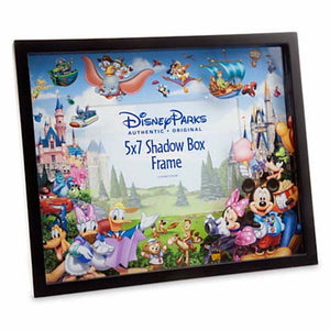 Disney Parks Shadow Box Picture Frame Storybook Mickey & Friends 5x7 New