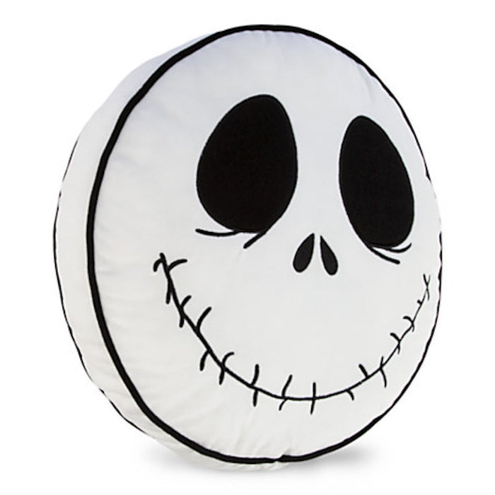disney parks jack skellington face pillow plush new with tags