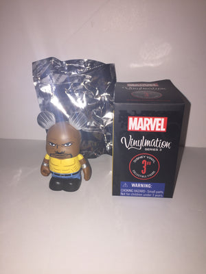 vinylmation disney marvel series 3 luke cage new with opened box foil