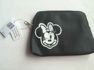 disney parks minnie mouse comics cosmetic zippered pouch new with tags