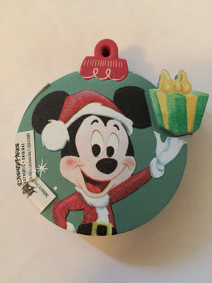 disney parks mickey retro holiday foam antenna pencil pen topper new