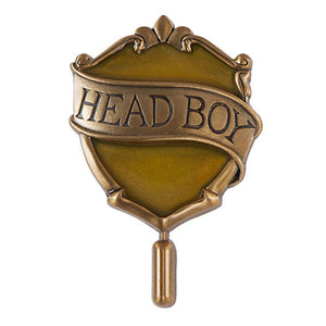 Universal Studios Harry Potter Hufflepuff Head Boy Pin New with Card