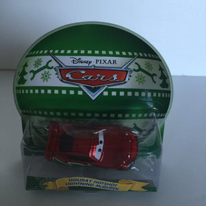 disney parks pixar cars holidays hotshot mcqueen die cast metal new with box