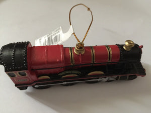 Universal Studios Harry Potter Hogwarts Express Train Resin Ornament New w Tags