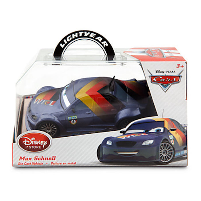 disney store pixar cars max schnell die cast metal car new with box