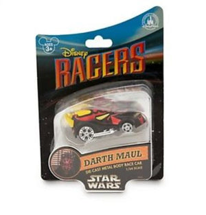 disney parks racers die cast metal star wars darth maul cast race car new with box
