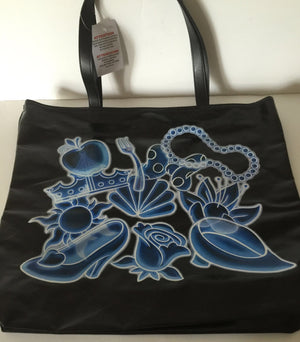 disney parks princess shoes apple tiara rose tote shoulder bag new with tags