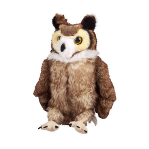 universal studios harry potter horned owl plush new with tags