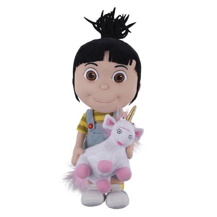 universal studios despicable me agnes holding unicorn plush new with tags