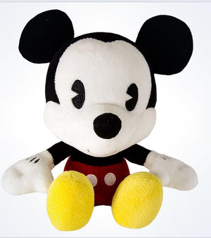 disney parks mickey mouse cute bobble head plush new with tags