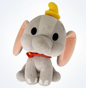 disney parks dumbo the flying elephant cute bobble head plush new with tags