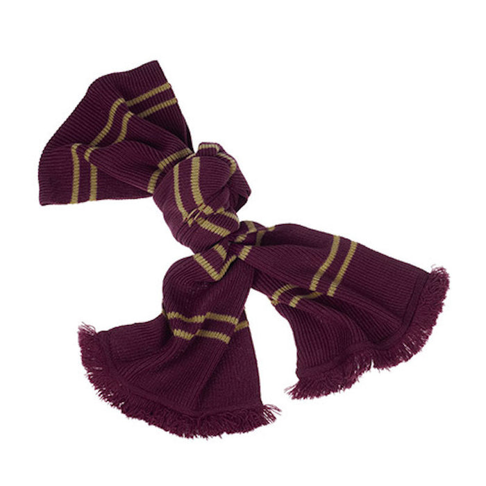 universal studios harry potter scarlet tassels gryffindor scarf new with tags