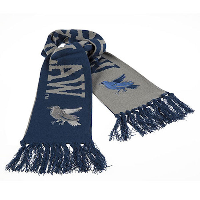 universal studios harry potter ravenclaw house reversible scarf new with tags