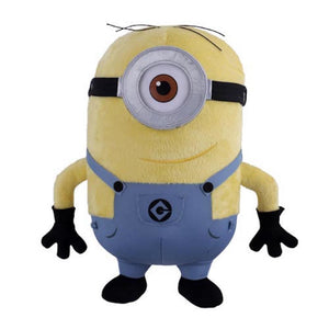 "universal studios 12"" despicable me minion stuart plush new with tags"