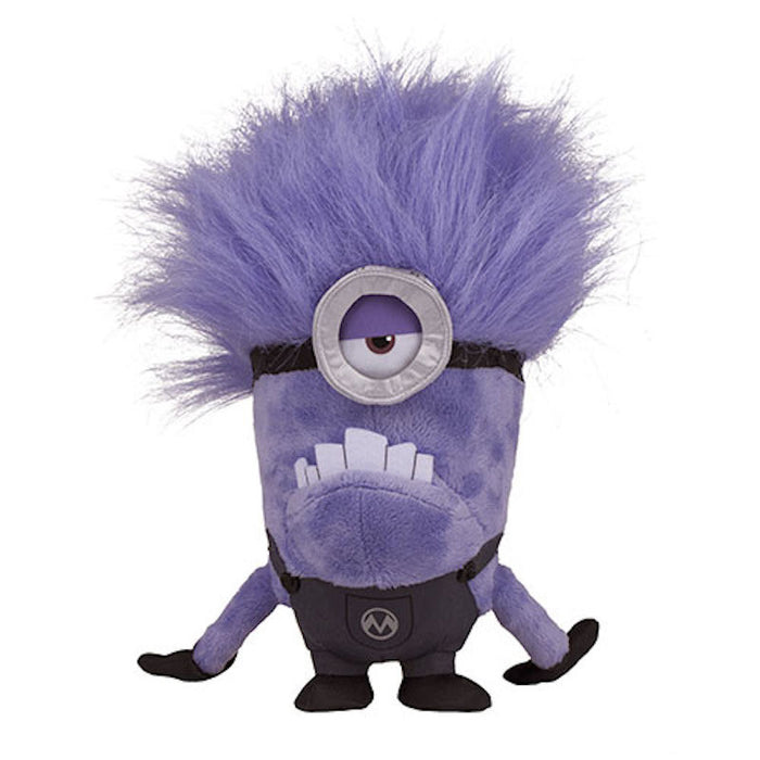 universal studios despicable me one eye purple minion plush new with tags
