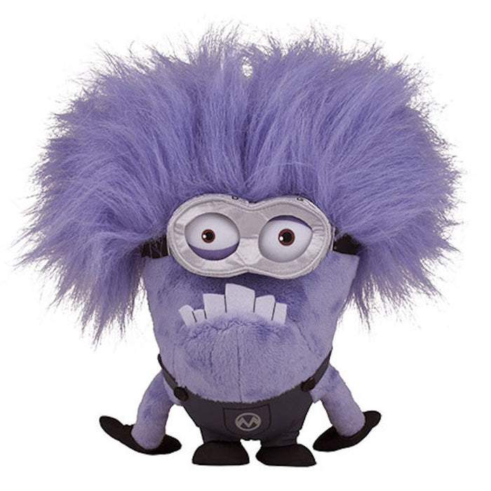 universal studios despicable me two eye purple minion plush new with tags