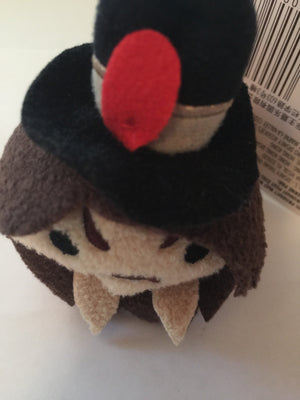 Disney Parks Tsum Tsum Pirates of the Caribbean Captain Jack Sparrow Plush New with Tags