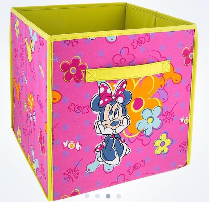 disney parks minnie mouse storage bin new with tags