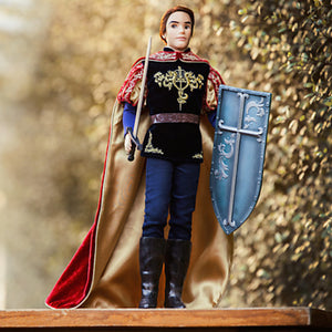 "disney store 17"" prince phillip doll limited 3500 new with box and COA"