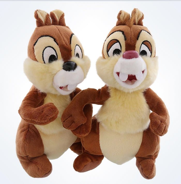 "Disney Parks Chip and Dale Bean Bag 9"" Plush Toys new with tags"