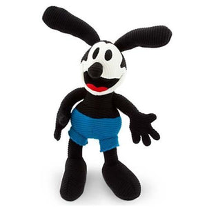 "Disney Parks 15"" Oswald the Lucky Rabbit Plush Knit New Tag"