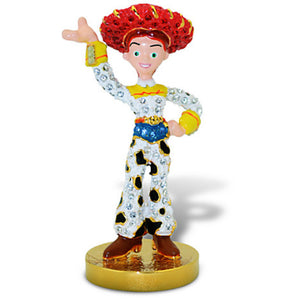 Disney Jessie Toy Story Jeweled Figurine by Arribas New