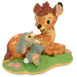 Disney Bambi and Thumper Figurine by Arribas New Limited Edition 2000 - I Love Characters