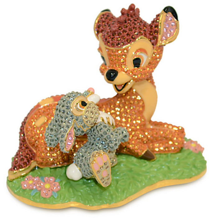 Disney Bambi and Thumper Figurine by Arribas New Limited Edition 2000