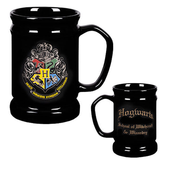Universal Studios Wizarding World Of Harry Potter Hogwarts Crest Coffee Mug New