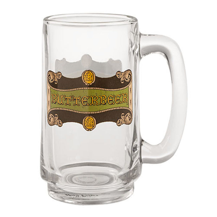 Universal Studios Wizarding World Harry Potter Butterbeer Stein Glass Mug New