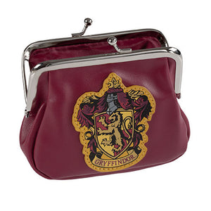 Universal Studios Harry Potter Crest Gryffindor Coin Purse New With Tags