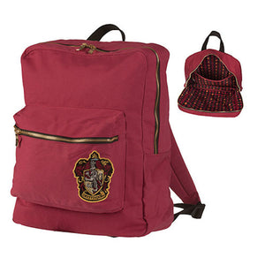 Universal Studios Harry Potter Crest Gryffindor Backpack New With Tags