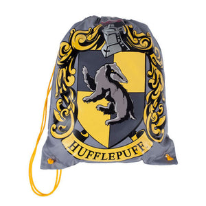 Universal Studios Harry Potter Drawstring Hufflepuff Backpack New With Tags
