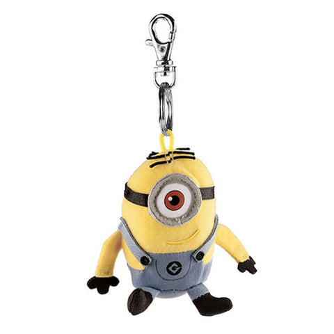 Universal Studios Despicable Me Minion Keychain Plush New With Tags
