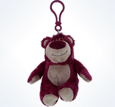 Disney Parks Authentic Pixar Toy Story Lotso Keychain Plush New With Tags