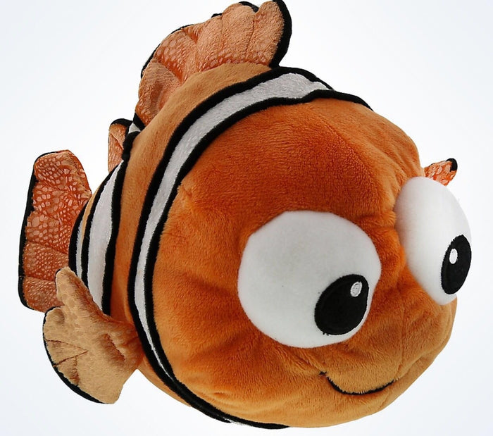 "Disney Parks 12"" Finding Nemo Talking Plush New With Tags"