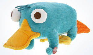 "Disney Parks 12"" Talking Perry Plush New With Tags"
