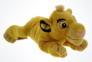 "Disney Parks The Lion King Young Simba 9"" Plush New With Tags"