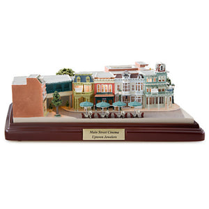 Disney Parks Walt Disney World Main Street Cinema Miniature by Olszewski New with Box