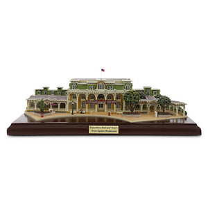 Disney Parks Walt Disney World Exposition Hall and Tony's Town Square Restaurant Miniature by Olszewski